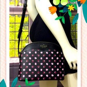 NWT Kate Spade Black Payton Dome Crossbody Bag